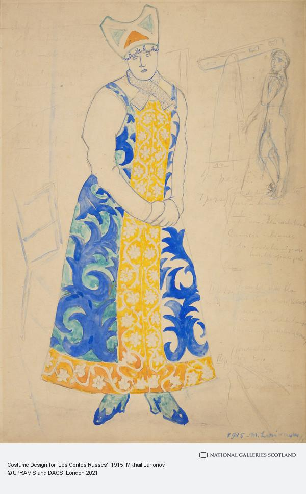 Mikhail Larionov, Costume Design for 'Les Contes Russes'