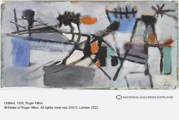 Roger Hilton, Untitled
