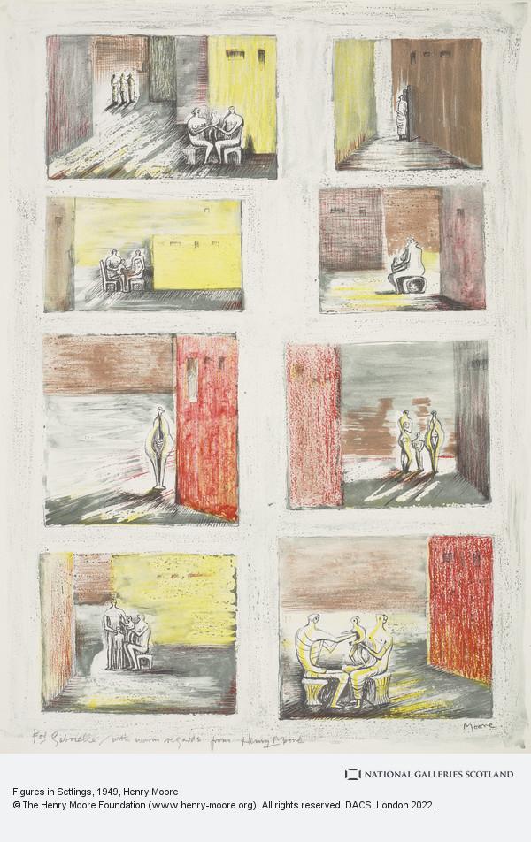 Henry Moore, Figures in Settings