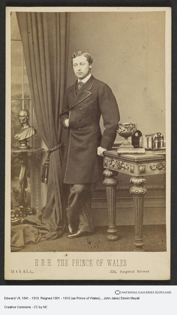 John Jabez Edwin Mayall, Edward VII, 1841 - 1910. Reigned 1901 - 1910 (as Prince of Wales)