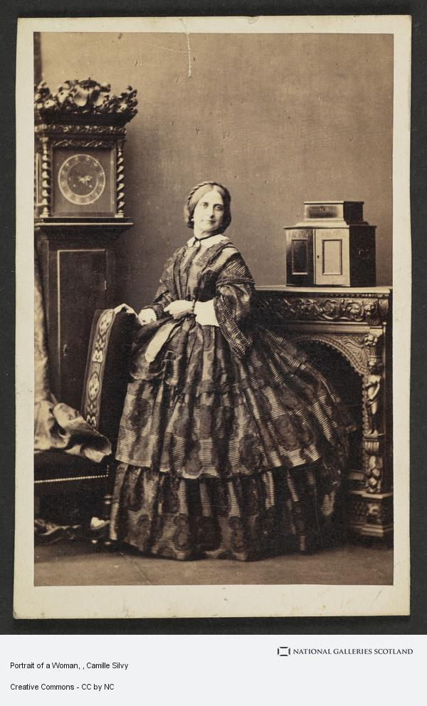 Camille Silvy, Portrait of a Woman
