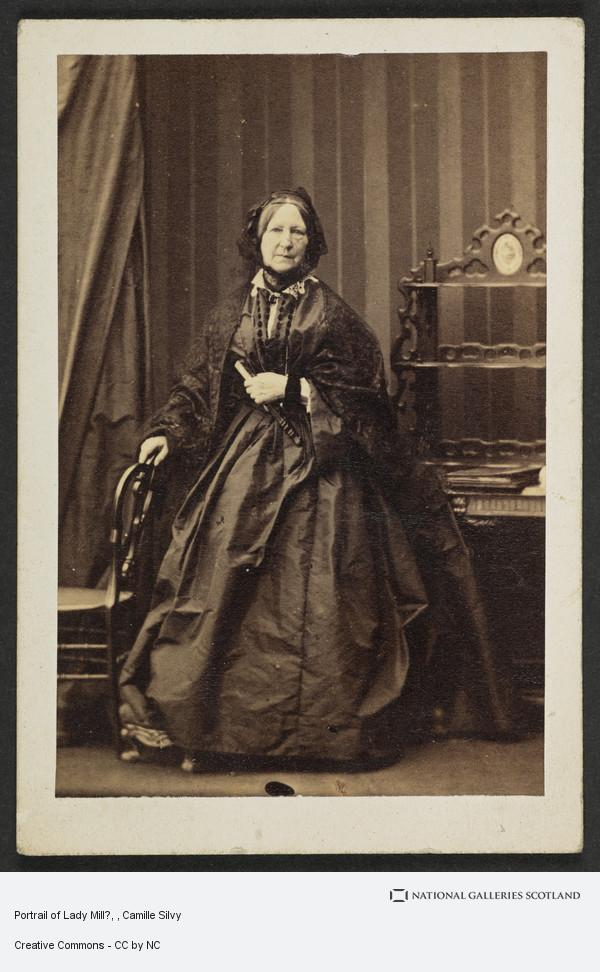 Camille Silvy, Portrail of Lady Mill?