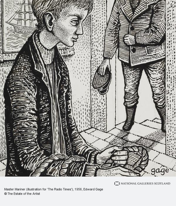 Edward Gage, Master Mariner (illustration for 'The Radio Times')