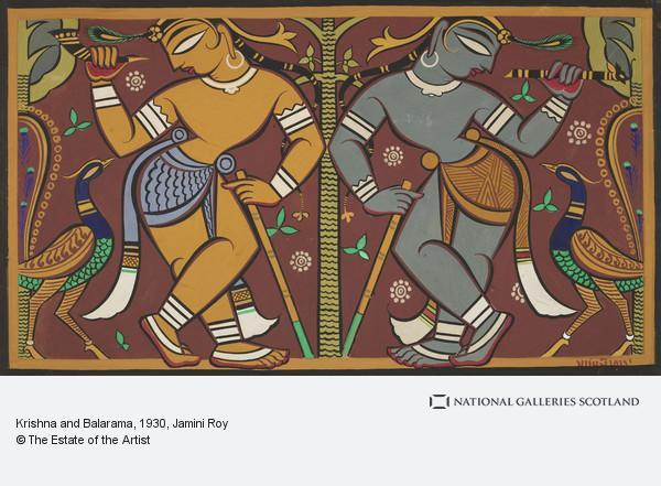 Jamini Roy, Krishna and Balarama