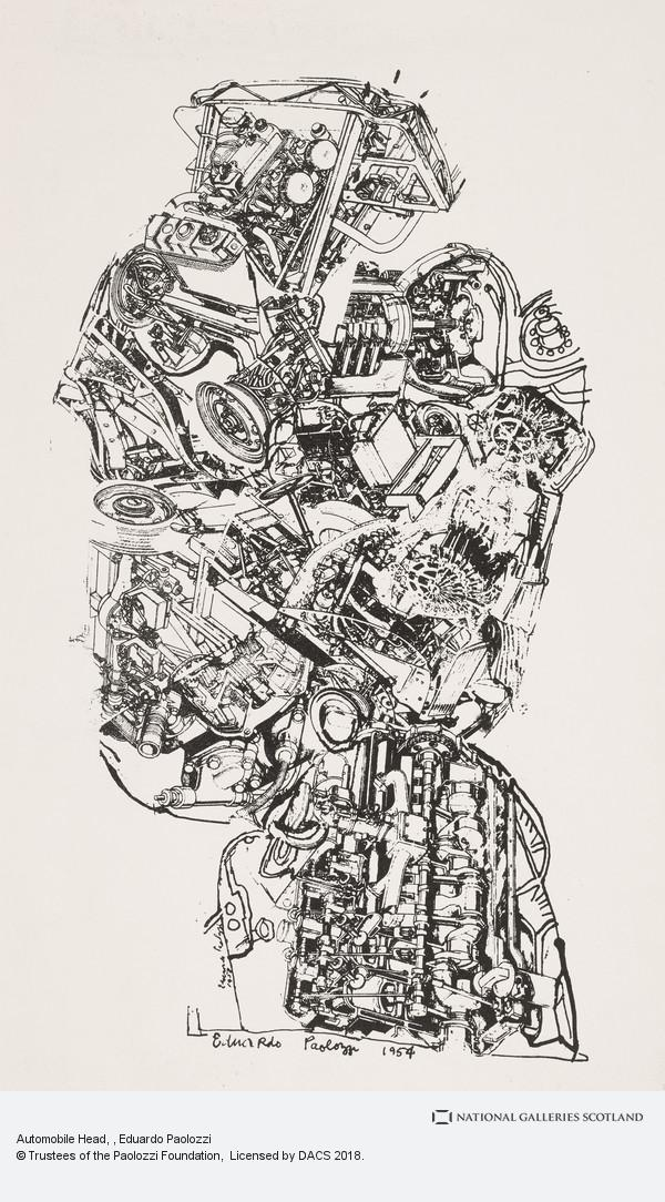 Sir Eduardo Paolozzi, Automobile Head