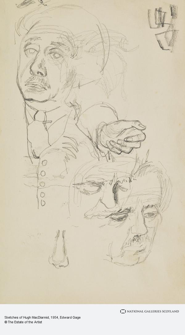 Edward Gage, Sketches of Hugh MacDiarmid