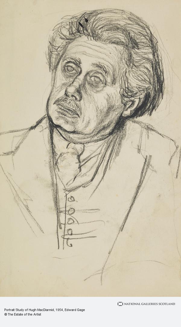Edward Gage, Portrait Study of Hugh MacDiarmid