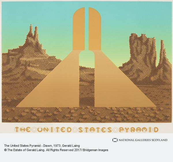 Gerald Laing, The United States Pyramid - Dawn