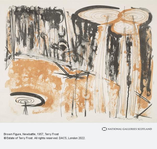Terry Frost, Brown Figure, Newbattle