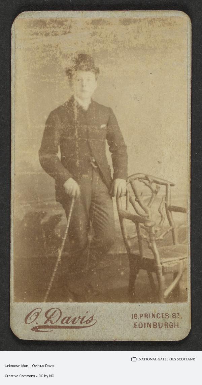 Ovinius Davis, Unknown Man