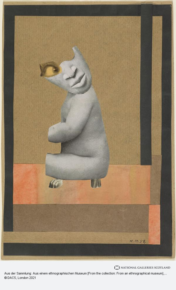 Hannah Höch, Aus der Sammlung: Aus einem ethnographischen Museum [From the collection: From an ethnographical museum]