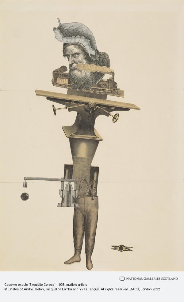 Andre Breton, Cadavre exquis [Exquisite Corpse]
