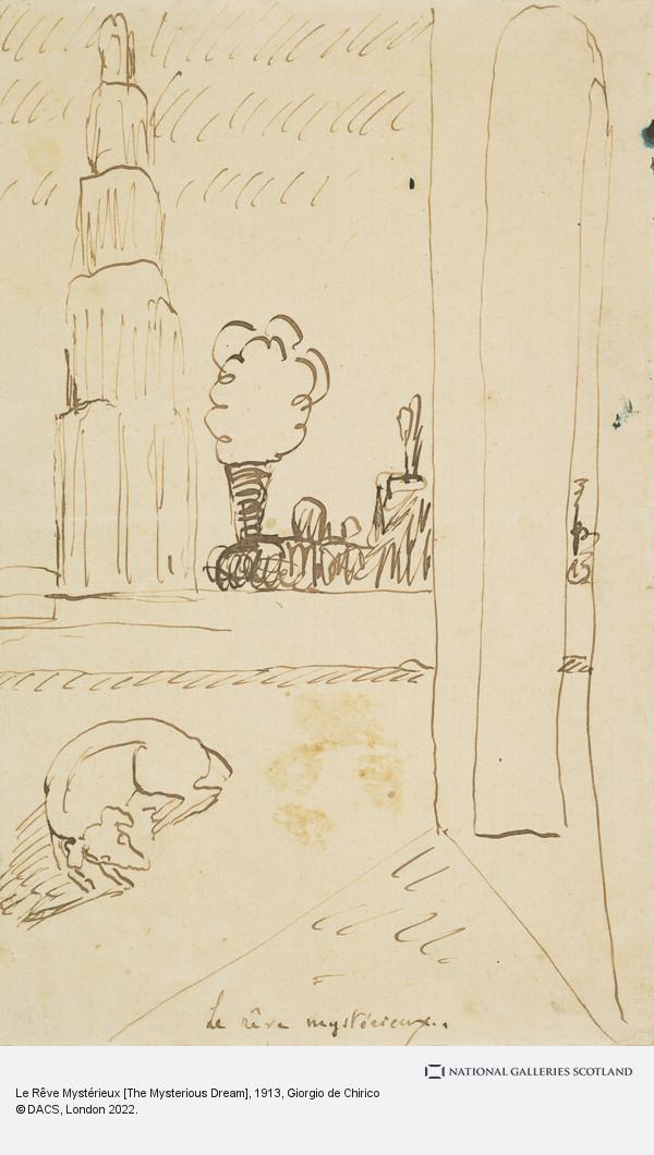 Giorgio de Chirico, Le Rêve Mystérieux [The Mysterious Dream]
