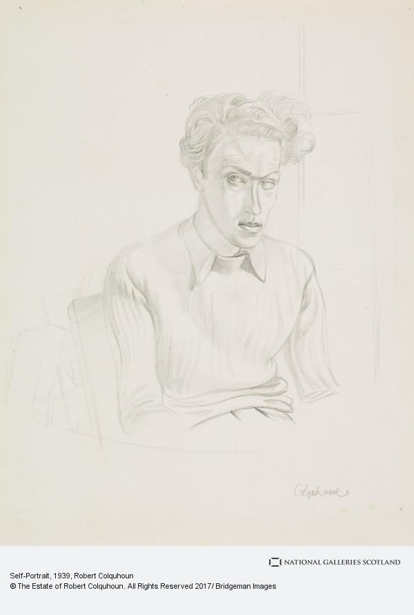 Robert Colquhoun, Self-Portrait
