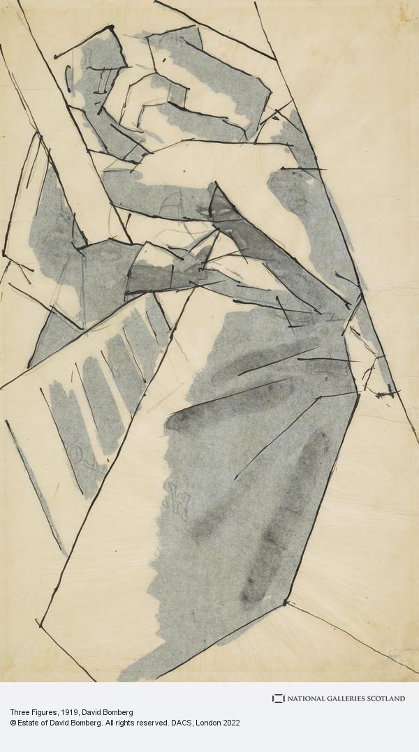 David Bomberg, Three Figures