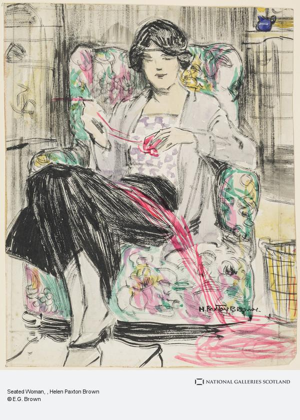 Helen Paxton Brown, Seated Woman