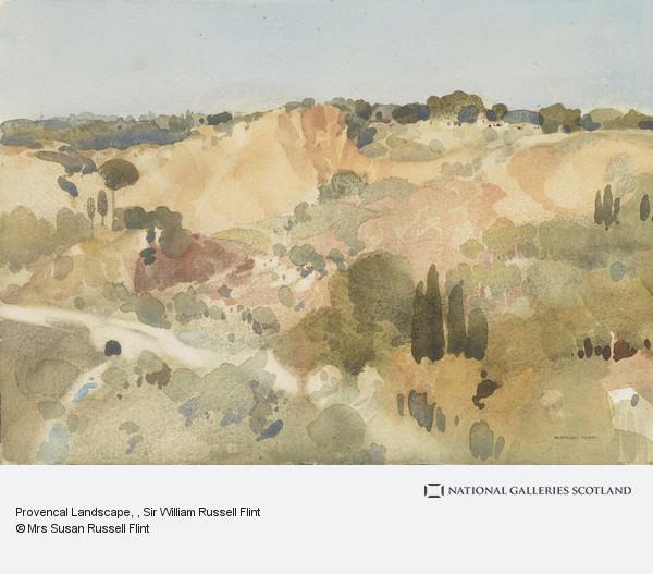 Sir William Russell Flint, Provencal Landscape