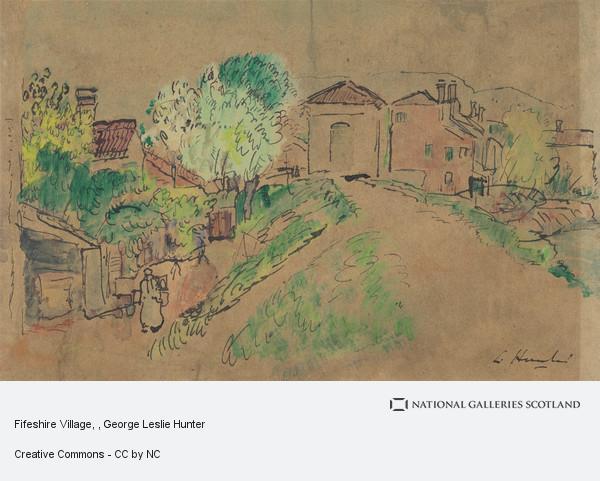 George Leslie Hunter, Fifeshire Village