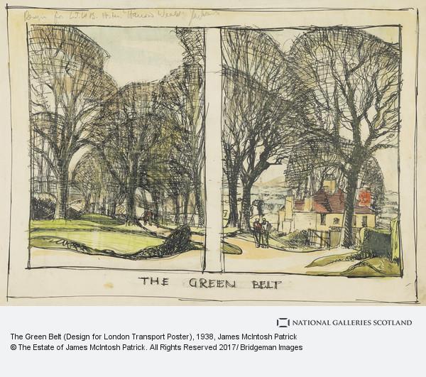 James McIntosh Patrick, The Green Belt (Design for London Transport Poster)