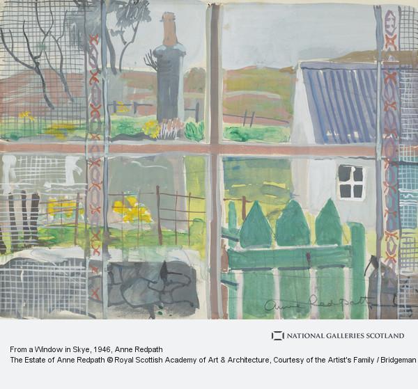 Anne Redpath, From a Window in Skye