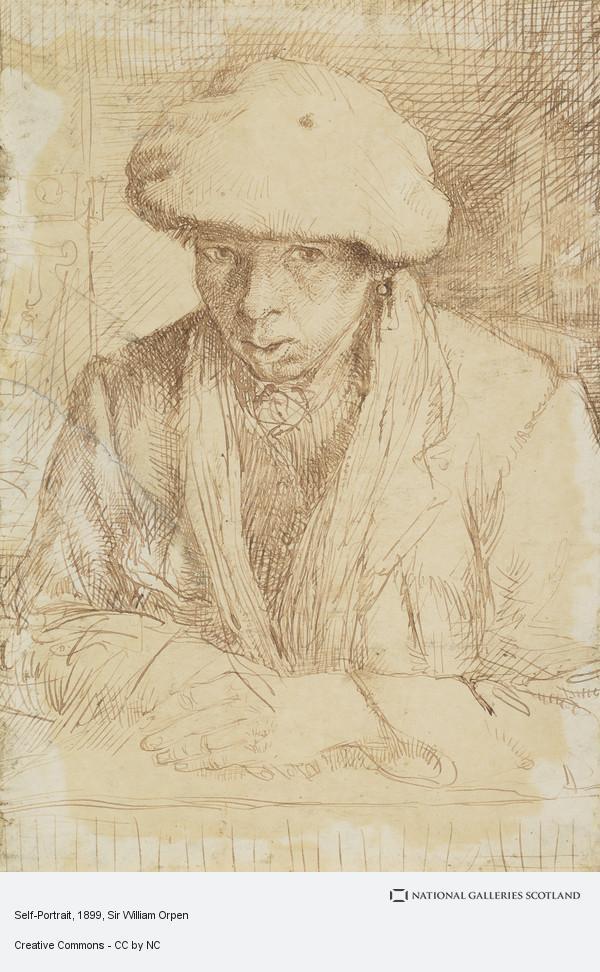 Sir William Orpen, Self-Portrait