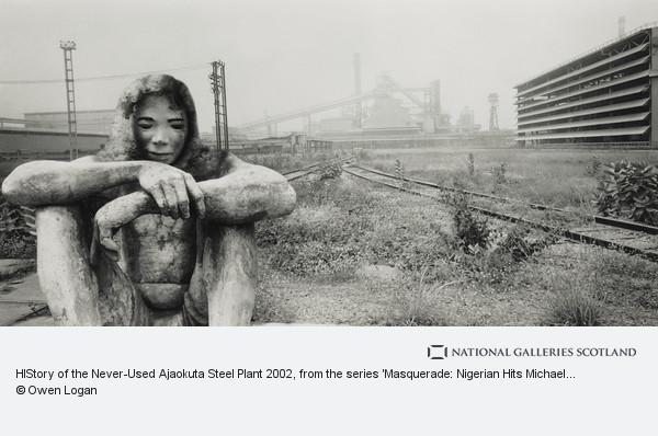 Owen Logan, HIStory of the Never-Used Ajaokuta Steel Plant 2002, from the series 'Masquerade: Nigerian Hits Michael Jackson'