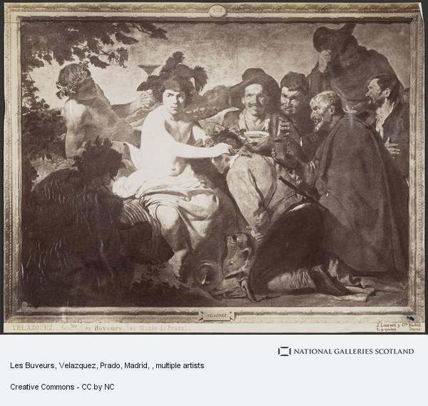 Jean Laurent, Les Buveurs, Velazquez, Prado, Madrid