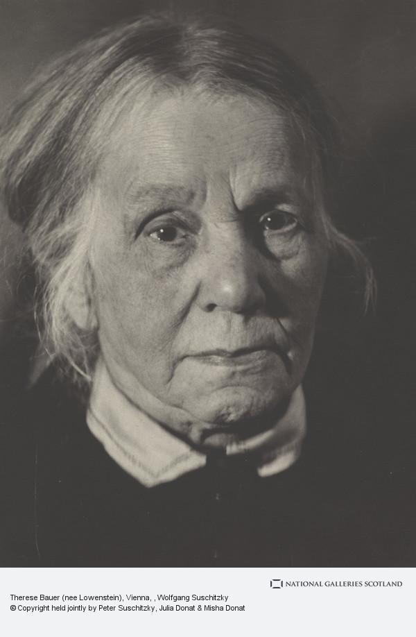 Wolfgang Suschitzky, Therese Bauer (nee Lowenstein), Vienna