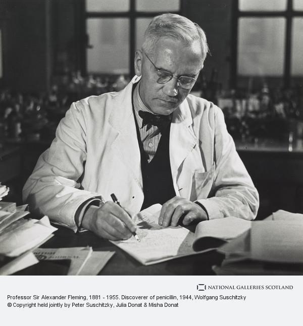Wolfgang Suschitzky, Professor Sir Alexander Fleming, 1881 - 1955. Discoverer of penicillin