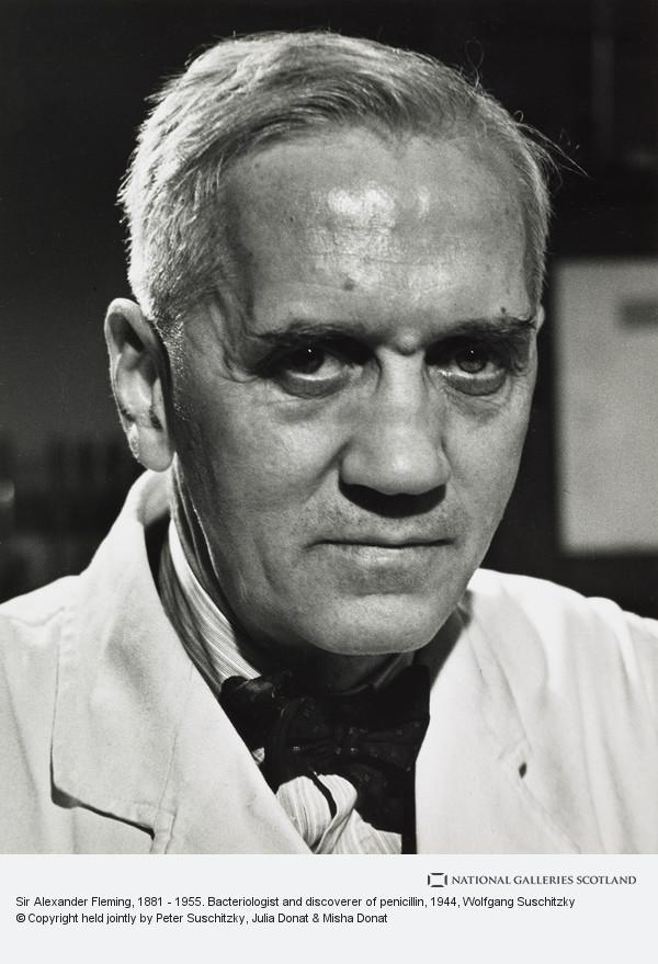 Wolfgang Suschitzky, Sir Alexander Fleming, 1881 - 1955. Bacteriologist and discoverer of penicillin