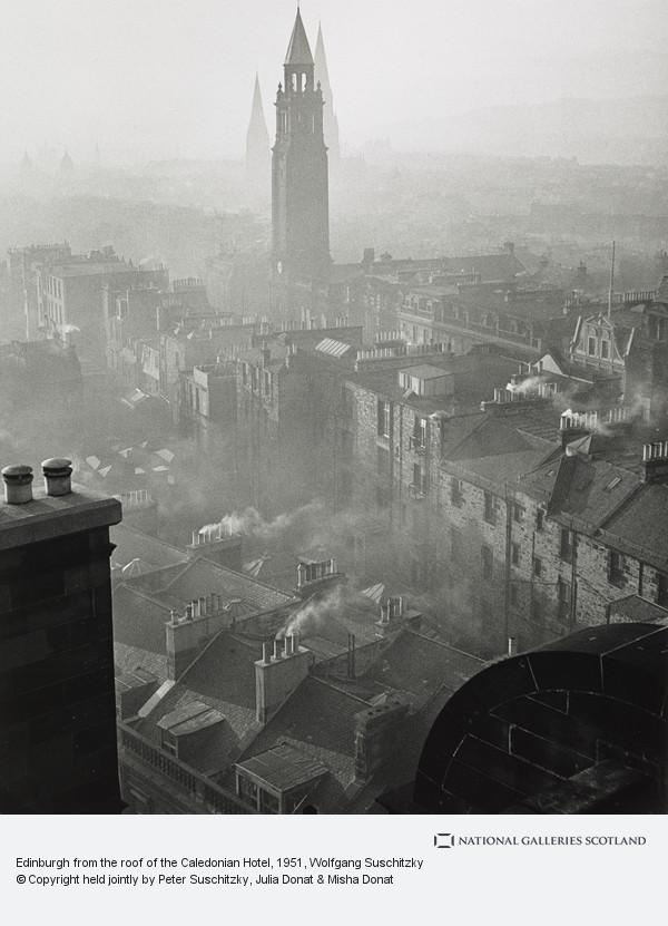 Wolfgang Suschitzky, Edinburgh from the roof of the Caledonian Hotel
