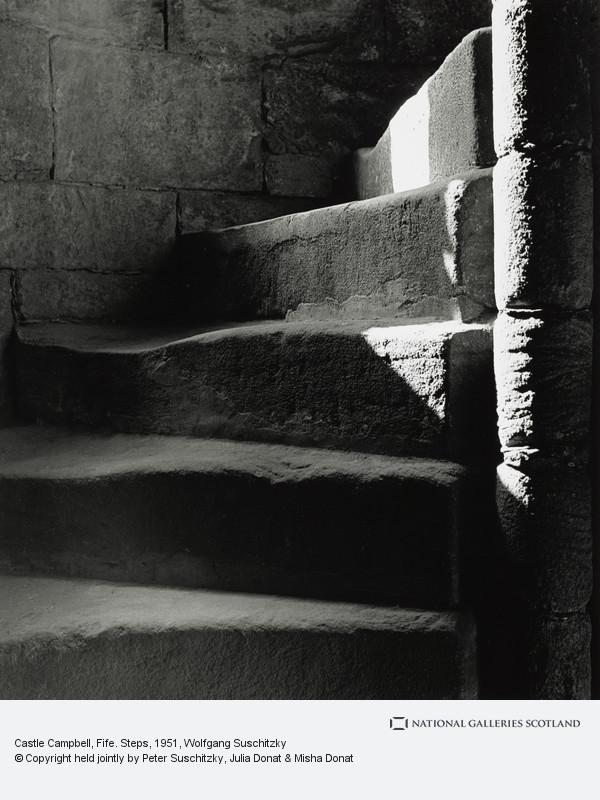 Wolfgang Suschitzky, Castle Campbell, Fife. Steps