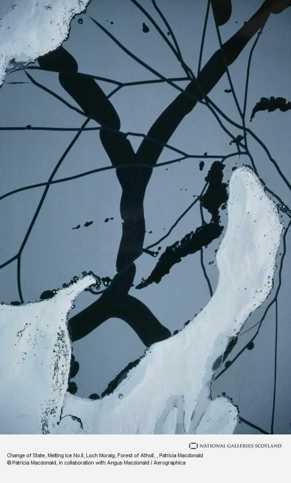 Patricia Macdonald, Change of State, Melting Ice No.II, Loch Moraig, Forest of Atholl