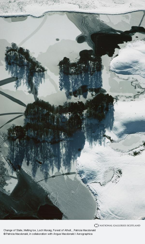 Patricia Macdonald, Change of State, Melting Ice, Loch Moraig, Forest of Atholl