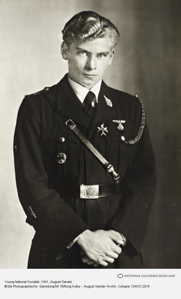 August Sander, Young National Socialist, 1941 (1941)