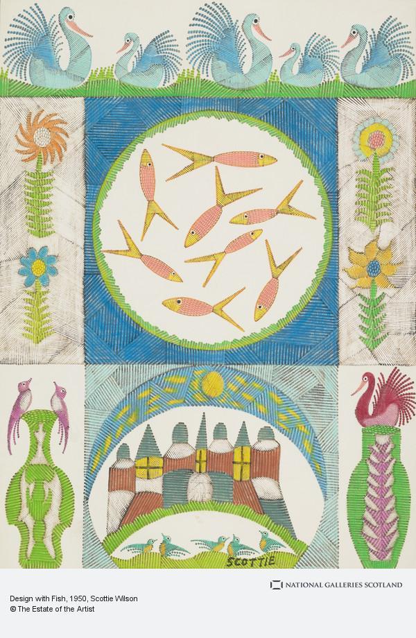 Scottie Wilson, Design with Fish