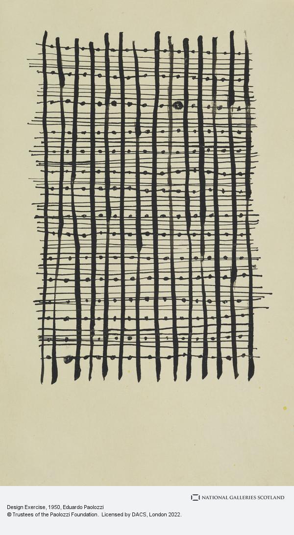 Eduardo Paolozzi, Design Exercise