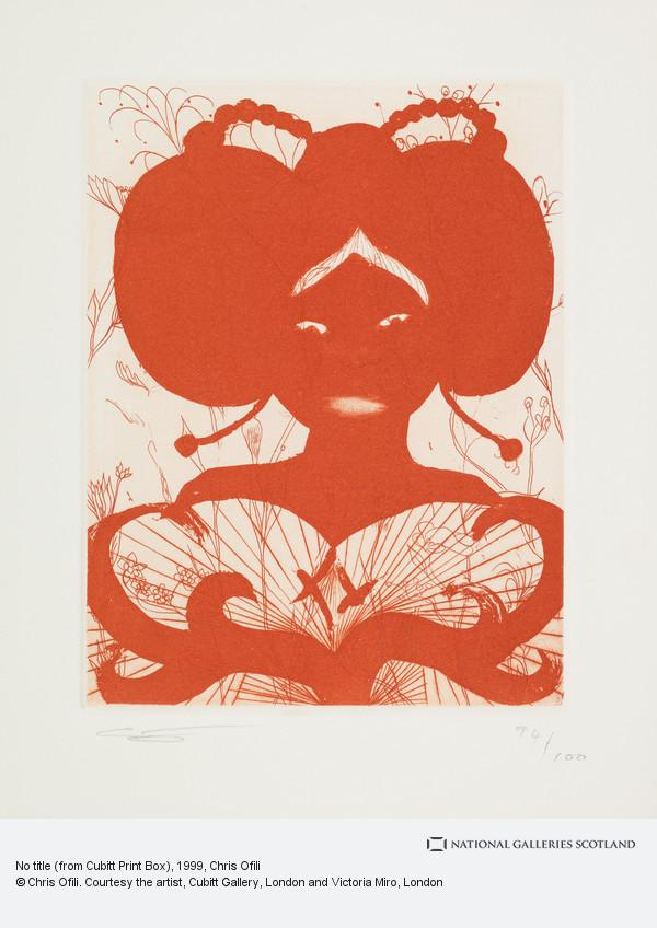 Chris Ofili, No title (from Cubitt Print Box)