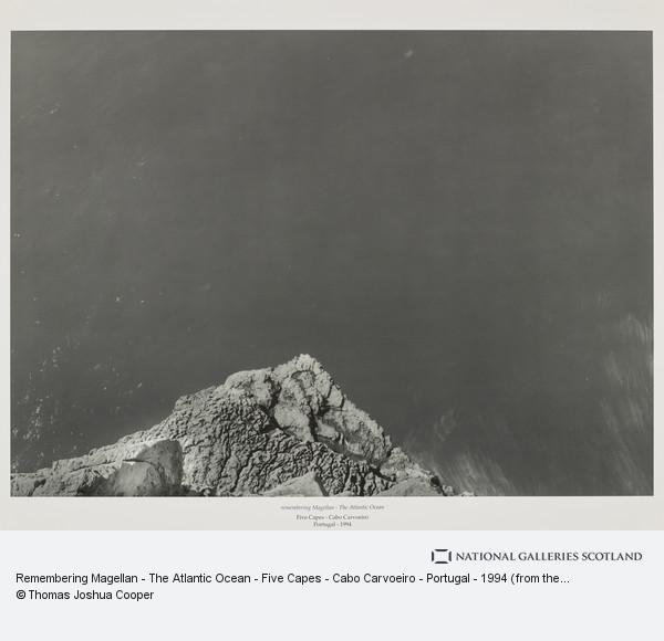 Thomas Joshua Cooper, Remembering Magellan - The Atlantic Ocean - Five Capes - Cabo Carvoeiro - Portugal - 1994 (from the portfolio Dear Stieglitz)