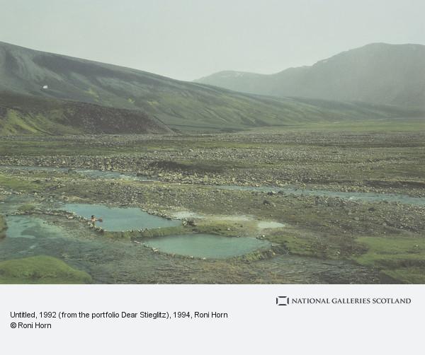 Roni Horn, Untitled, 1992 (from the portfolio Dear Stieglitz)