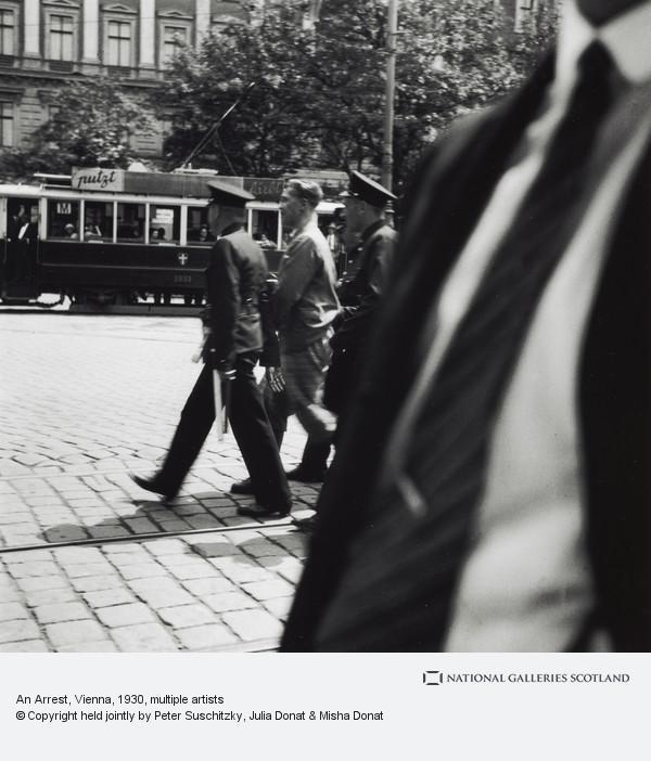 Edith Tudor-Hart, An Arrest, Vienna