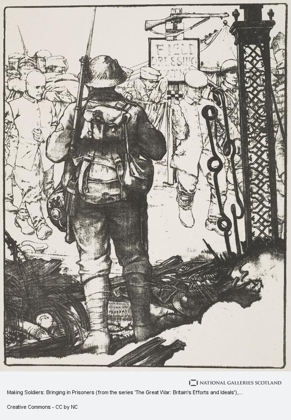 Eric Kennington, Making Soldiers: Bringing in Prisoners (from the series 'The Great War: Britain's Efforts and Ideals')