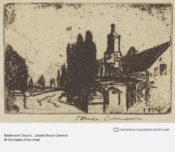 J. Bruce Cameron, Baldernoch Church