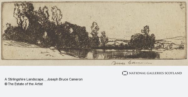 J. Bruce Cameron, A Stirlingshire Landscape