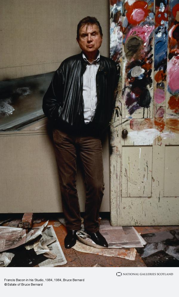 Bruce Bernard, Francis Bacon in his Studio, 1984