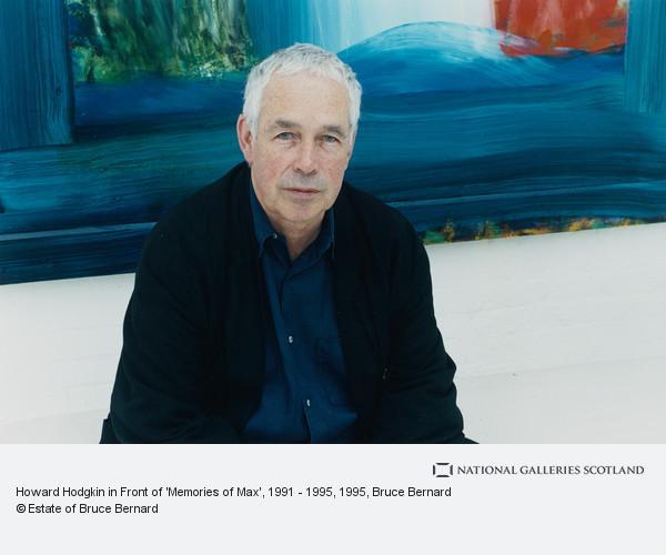 Bruce Bernard, Howard Hodgkin in Front of 'Memories of Max', 1991 - 1995