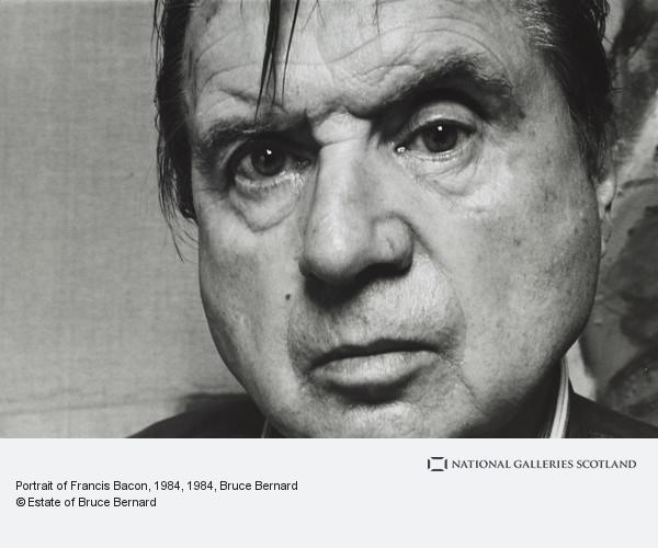Bruce Bernard, Portrait of Francis Bacon, 1984