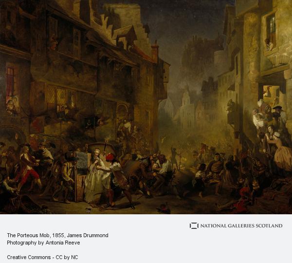 James Drummond, The Porteous Mob