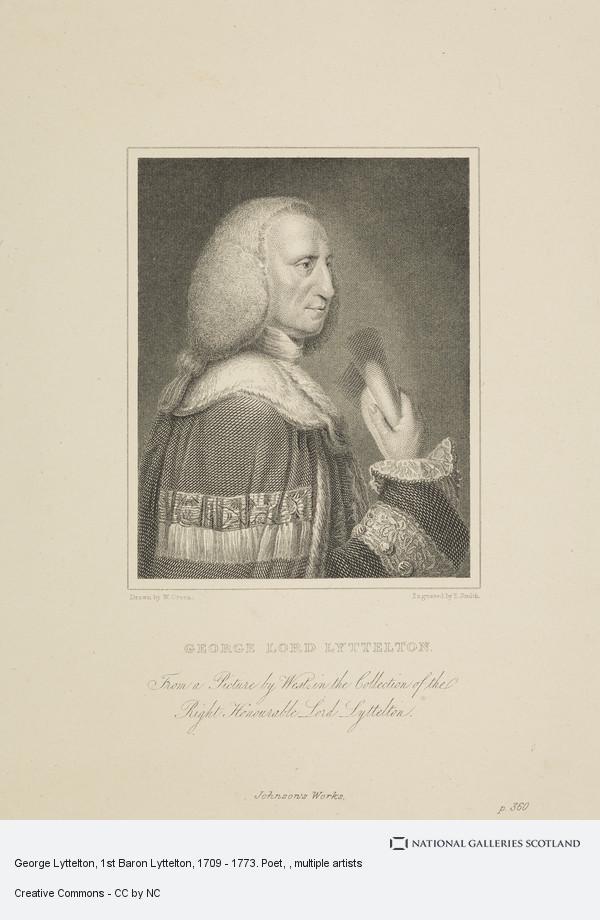 George Lyttelton 1773 poet