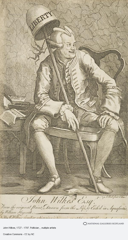Alexander Bell, John Wilkes, 1727 - 1797. Politician